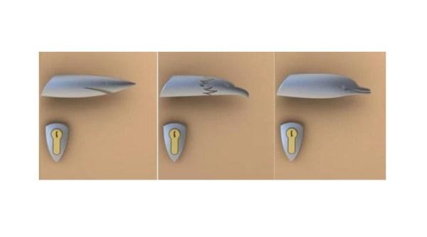 Animal shaped door handles