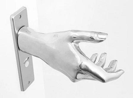 Delicieux Hand Shaped Door Handle