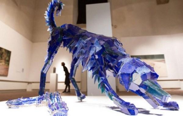Marta Klonowska: Glass Animals (dog)