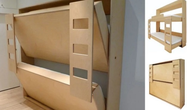 Charming Fold Away Bunk Bed Home Design Ideas