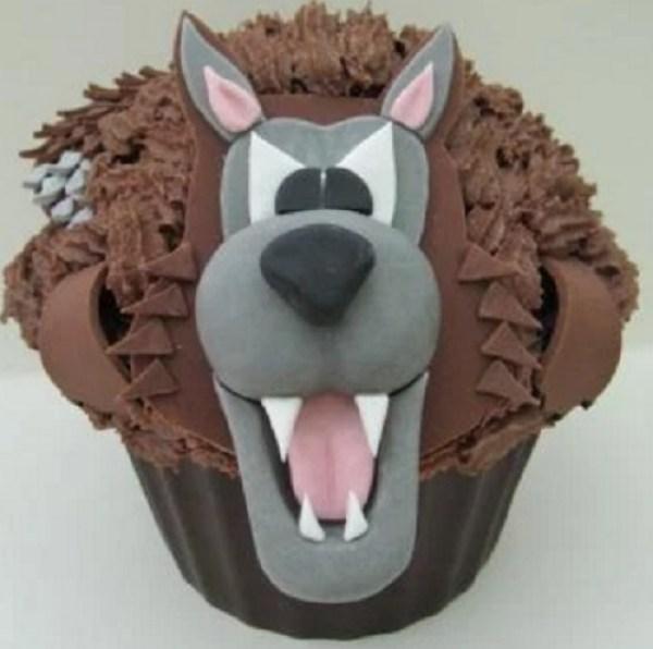 Big Bad Wolf Giant Cupcake