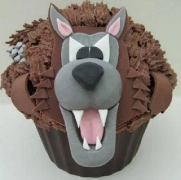 Big Bad Wolf Giant Cupcake