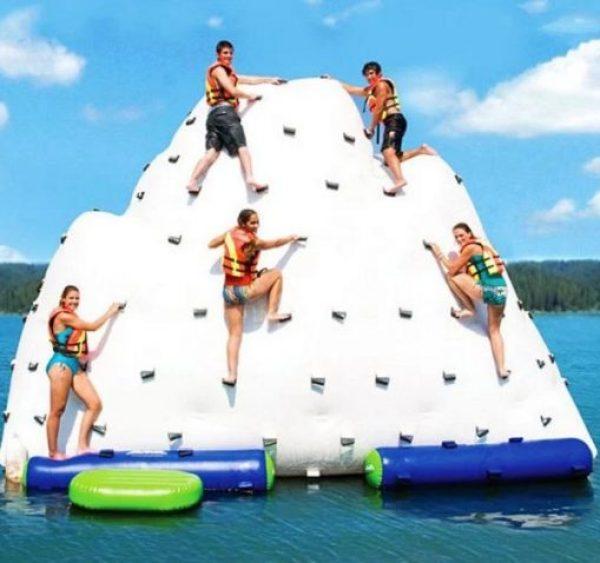 Gigantic Inflatable Climbing Iceberg