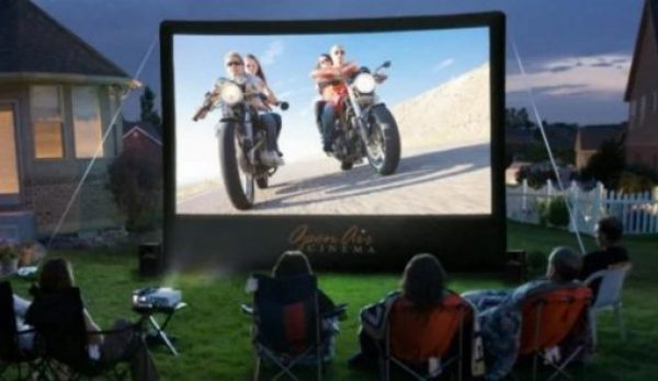 16-Foot Inflatable Movie Screen