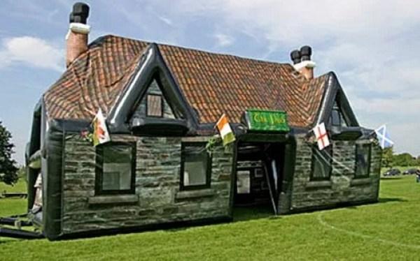 The Hogshead Inflatable Pub