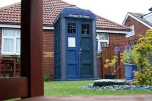 TARDIS Garden Shed