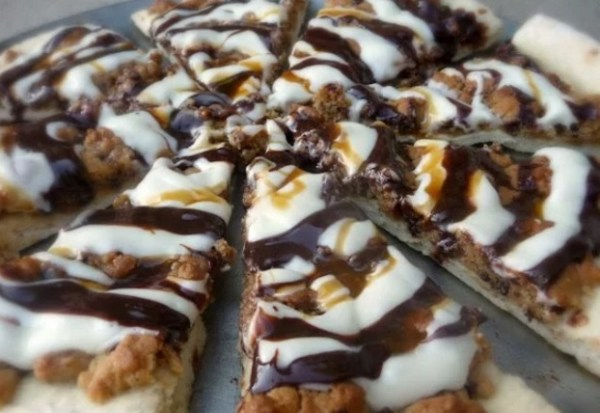 Cookie Dough Dessert Pizza
