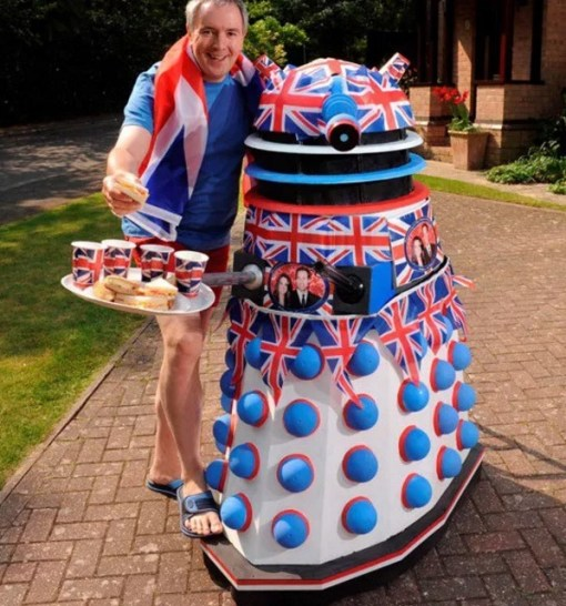Royal Wedding Dalek