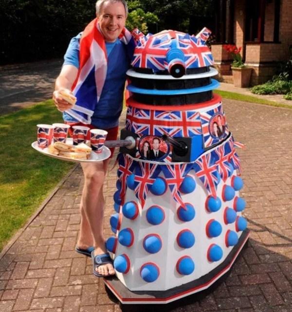 Royal Wedding Dalek
