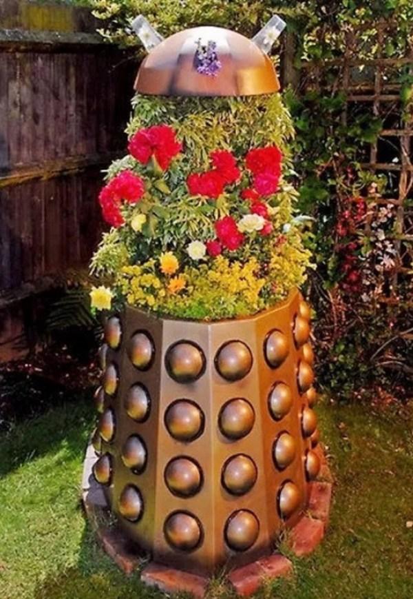 Dalek Planter