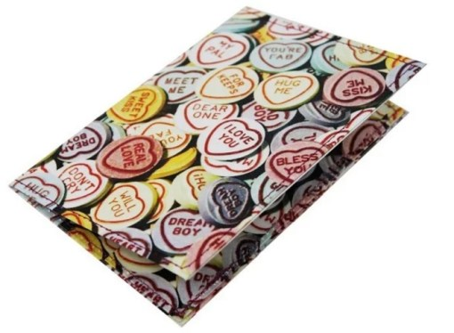 love hearts inspired Passport Holder