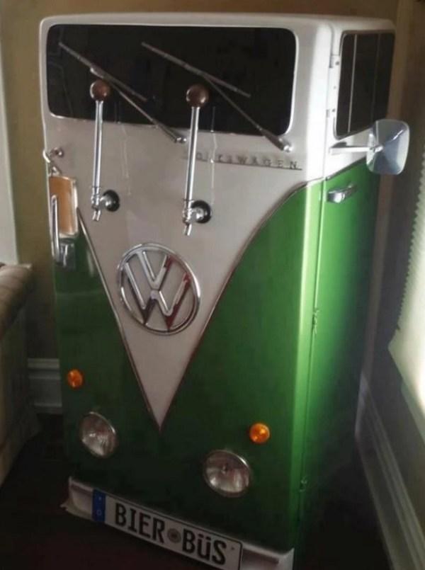 Volkswagen Campervan styled Fridge