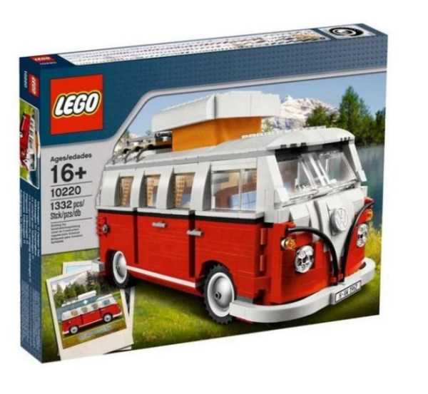 Volkswagen Campervan styled Lego