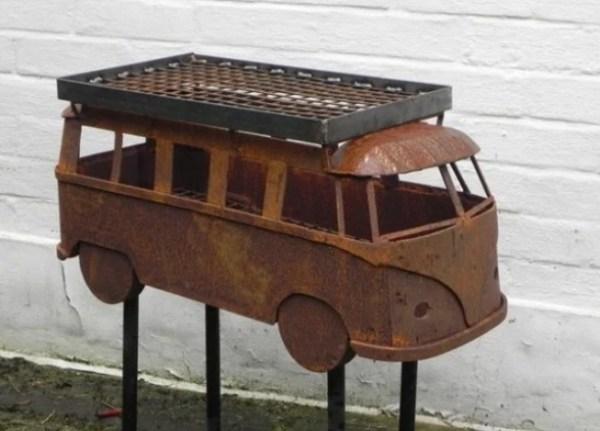 Volkswagen Campervan styled BBQ