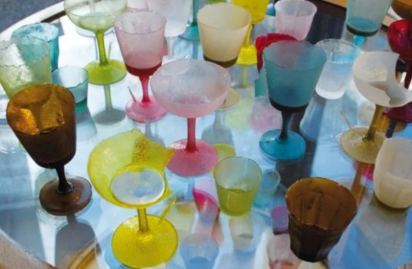 Drinking Glasses Made From Sugar