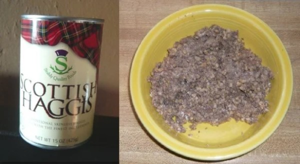 Can of haggis