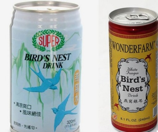 Canned bird's nest drink