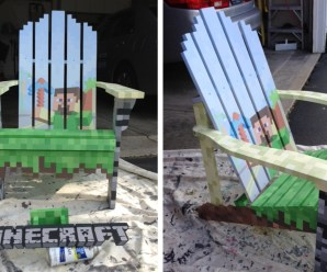 Top 10 Nerdy and Unusual Painted Wooden Chairs