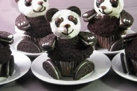 Ten Recipes and Designs for Food Shaped Like Giant Pandas