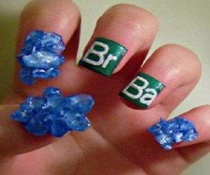 Ten of the Nerdiest Nail Art Examples You Will Ever See