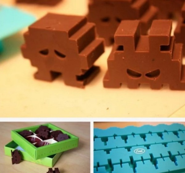 Space Invaders Chocolates