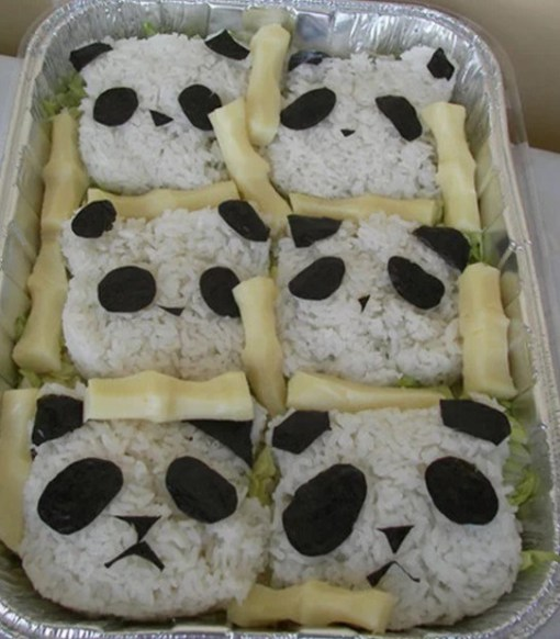 Panda Inspired Edible Book