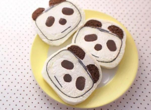 Panda Inspired Cake roll