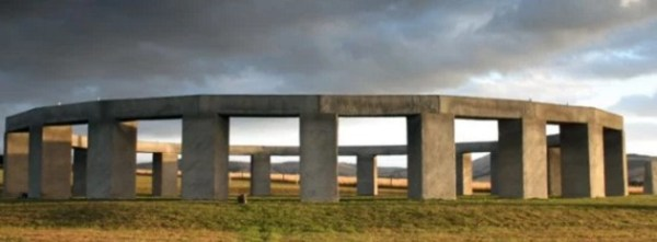 Aotearoa Stonehenge replica