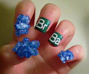 Top 10 Nerdy and Unusual Nail Art