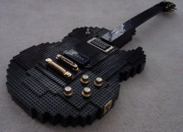 Lego Custom Made Guitar