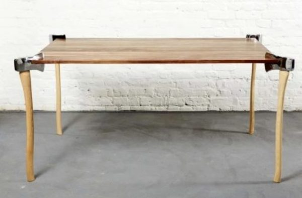 Axe Inspired Dining Table