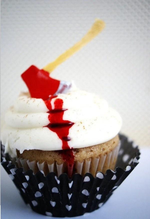 Axe Cupcake Topper