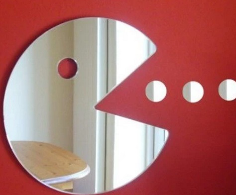 Pacman Wall Mirror