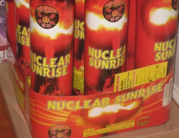 The Nuclear Sunrise Firework
