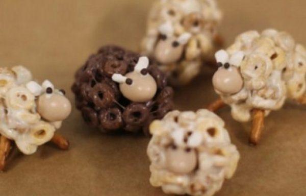 Sheep Inspired Cheerios