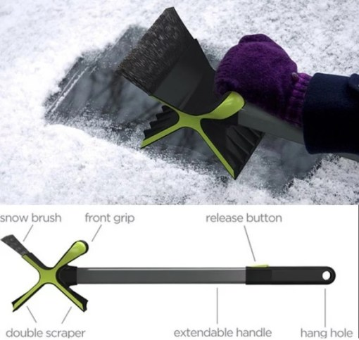 Thor Styled Ice Scraper for car windows