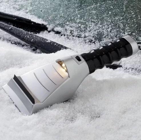 Heater Styled Ice Scraper for car windows