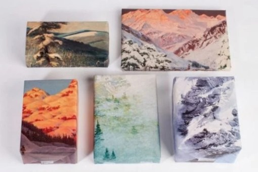 Mountain Range Gift Wrapping Paper