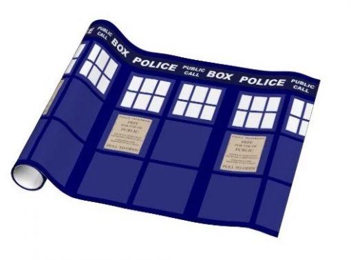 TARDIS Gift Wrapping Paper