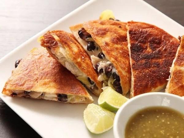 Roast Turkey and Black Bean Quesadillas