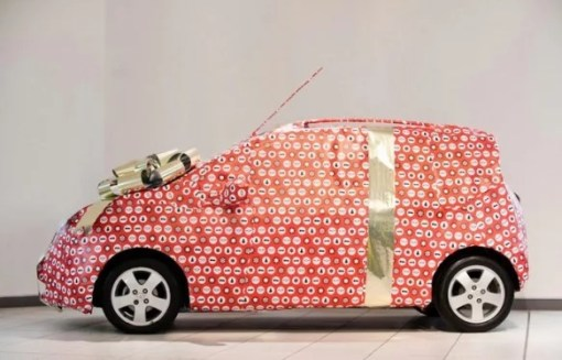 Gift Wrapped Car