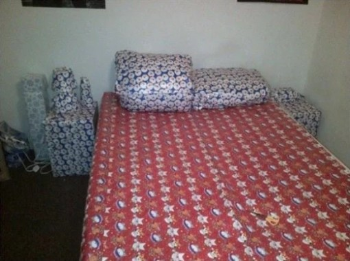 Gift Wrapped Bedroom