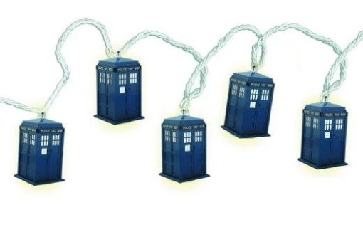 Dr Who: TARDIS Christmas String Lights