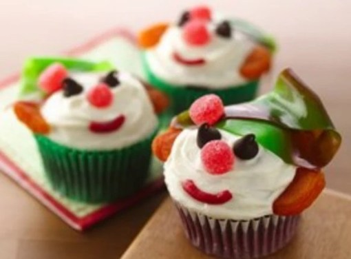 Elf Inspired Cupcakes