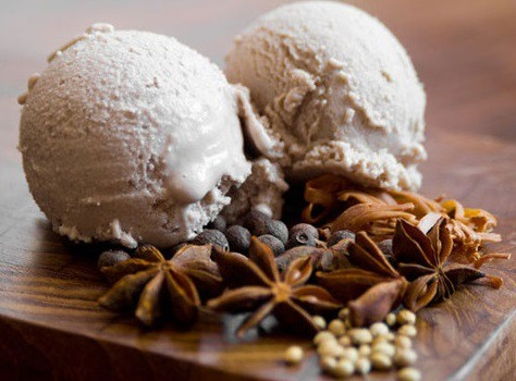 Mulled Wine Ice Cream