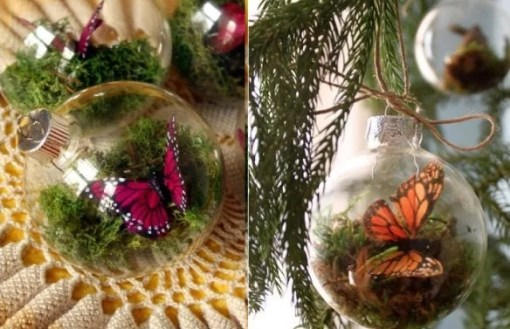 Terrarium Inspired Christmas Tree Bauble