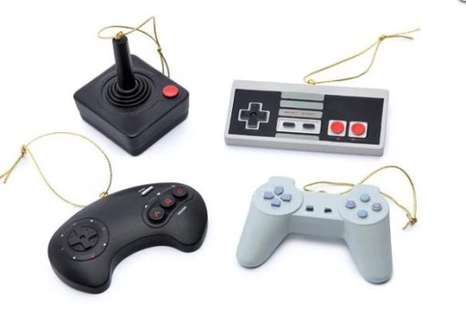 Video Game Inspired Christmas Tree Baubles