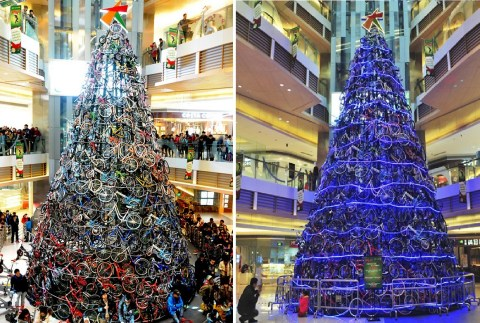 Top 10 Unusual and Unconventional Christmas Trees