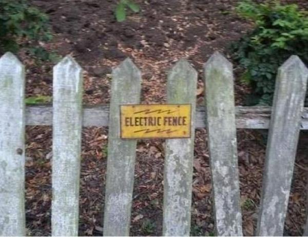 Electric Fence Fail