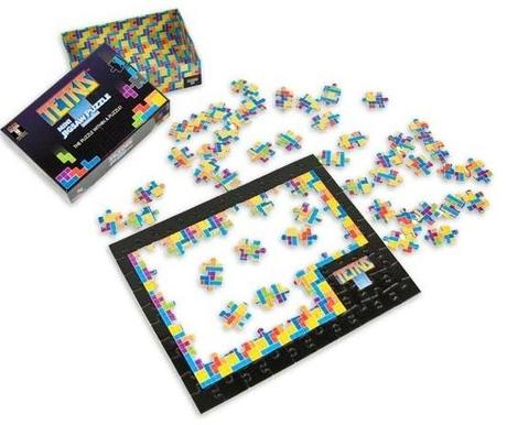 Tetris Themed Puzzle